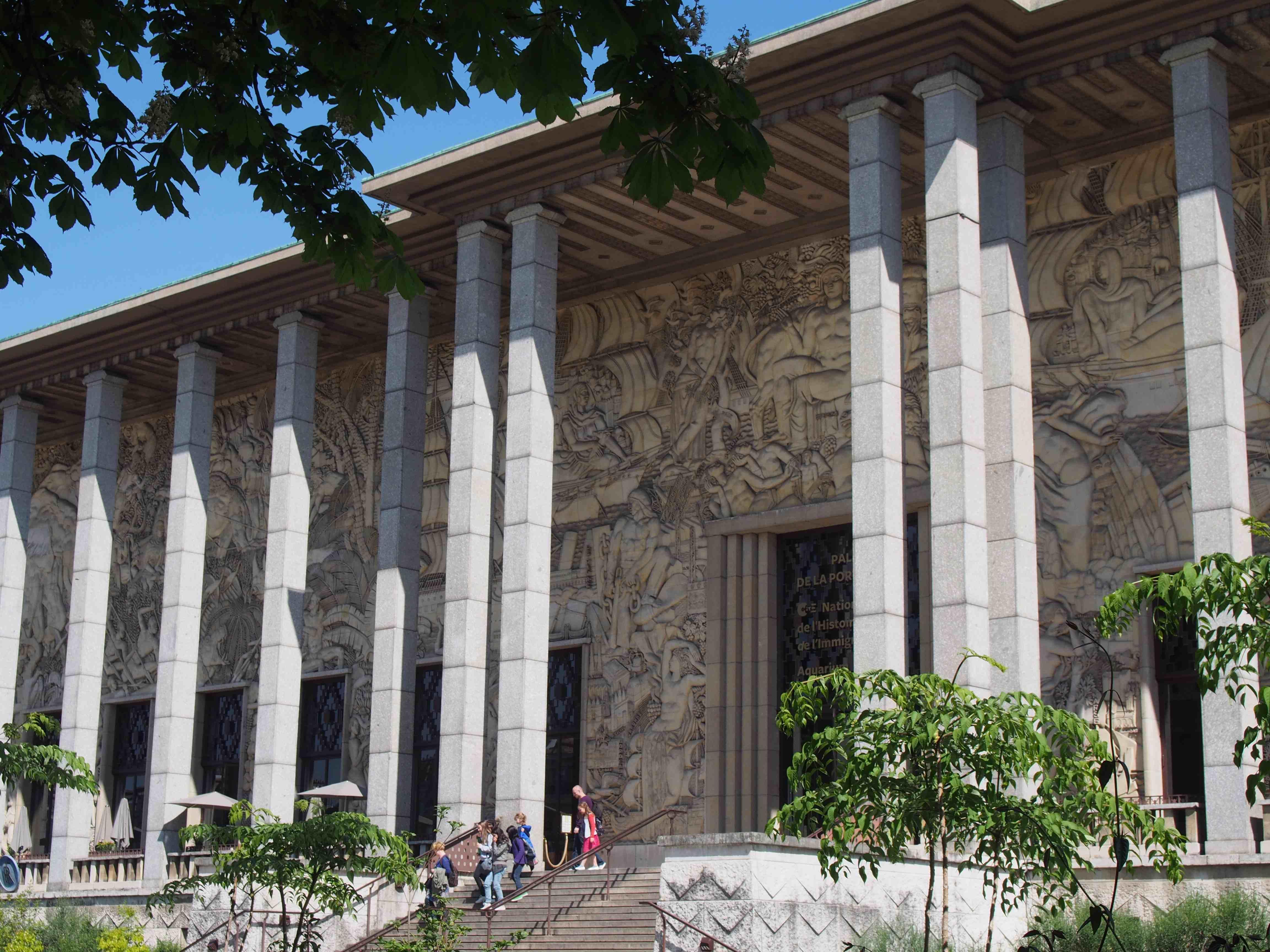 Palais de la Porte Dorée - Musée national de l'histoire de l'immigration - Aquarium tropical