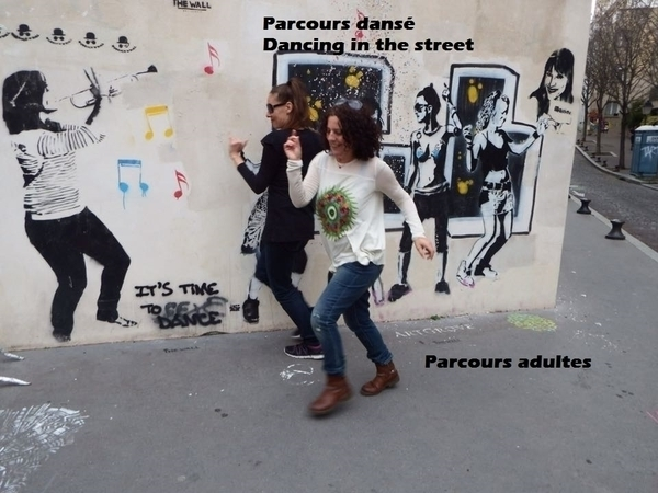 Balade Street art dansée