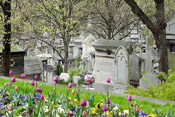 Le cimetière du Père Lachaise