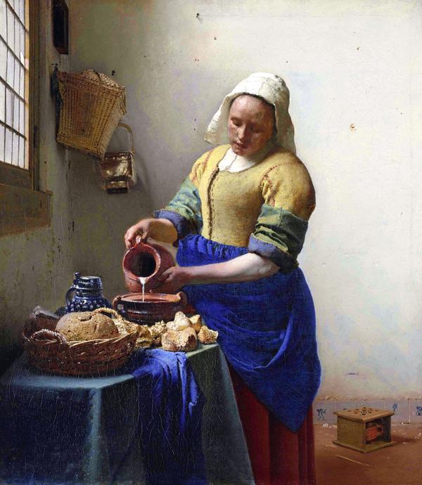 Vermeer et les maîtres de la peinture de genre (famille)