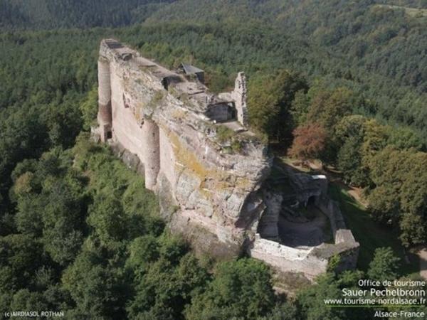 La ronde du veilleur du Château fort de Fleckenstein