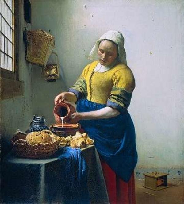 «La Laitière» de Johannes Vermeer