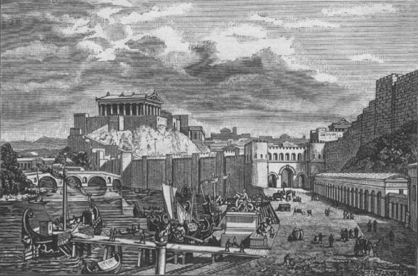 Le temple de Jupiter capitolin à Rome : fouilles et découvertes récentes