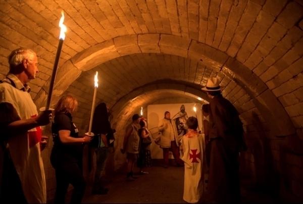 Visite aux flambeaux du château de Picquigny