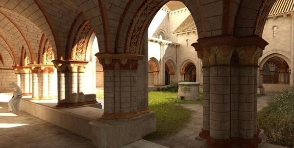 Abbaye Royale Saint Vincent de Nieul-sur-l'Autise