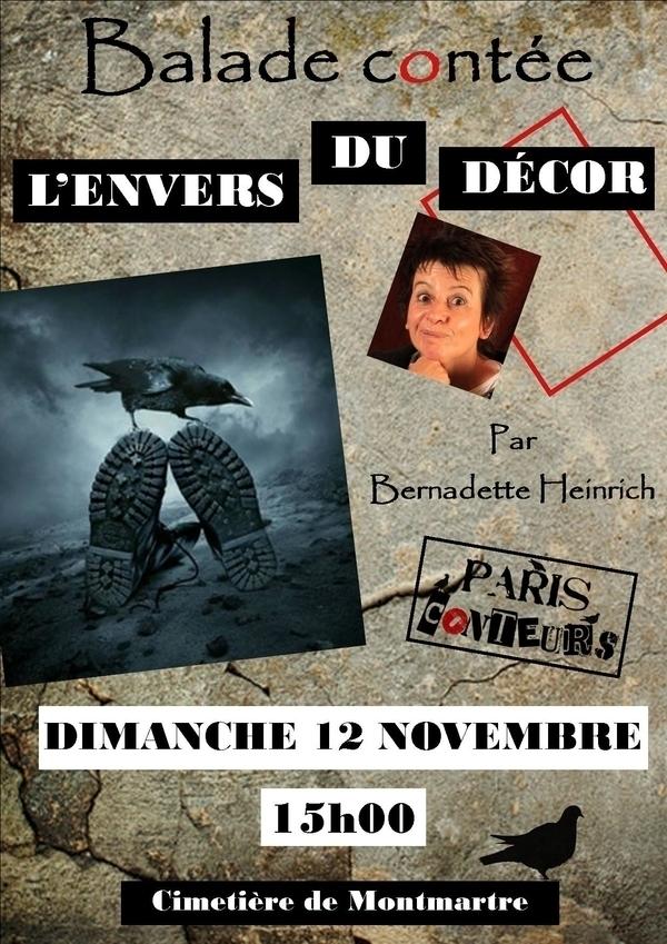 """Cimetière de Montmartre """"L'envers du décors"""""""