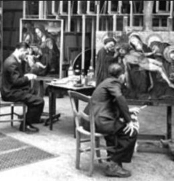 Rendre visible l'oeuvre d'art : restaurer, photographier