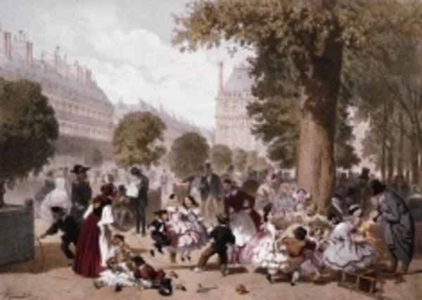 Le jardin des Tuileries ou le royaume des enfants