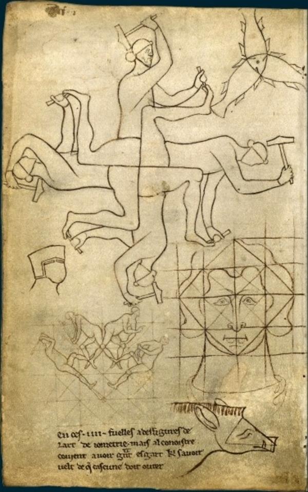 L'Album de Villard de Honnecourt, bâtisseur de cathédrales gothiques