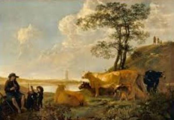 Trois siècles d'or du paysage en Europe