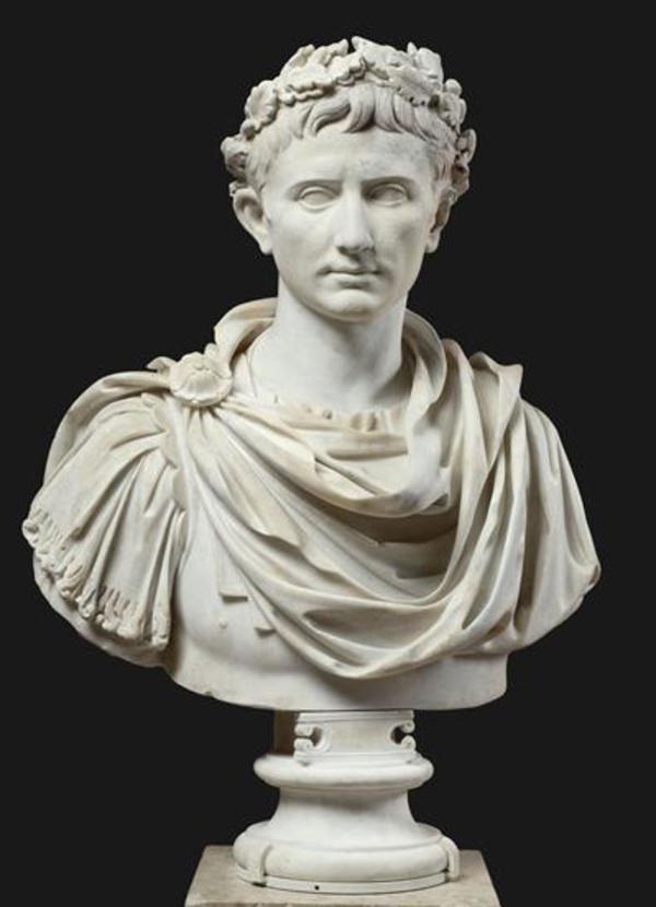 Les têtes couronnées : Auguste