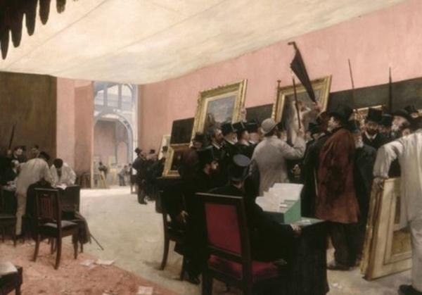 Gloires et scandales au Salon de 1848 à 1900