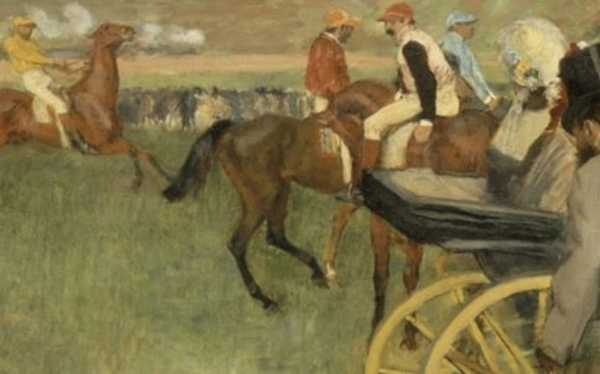 Degas et les chevaux