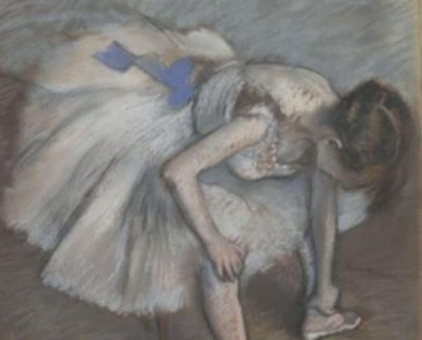Degas Danse Dessin (en LSF)
