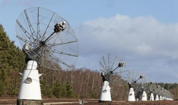 Pôle des Etoiles, Station de radioastronomie