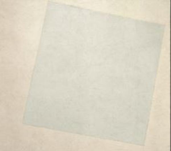 Malevitch, Carré blanc sur fond blanc (1918)