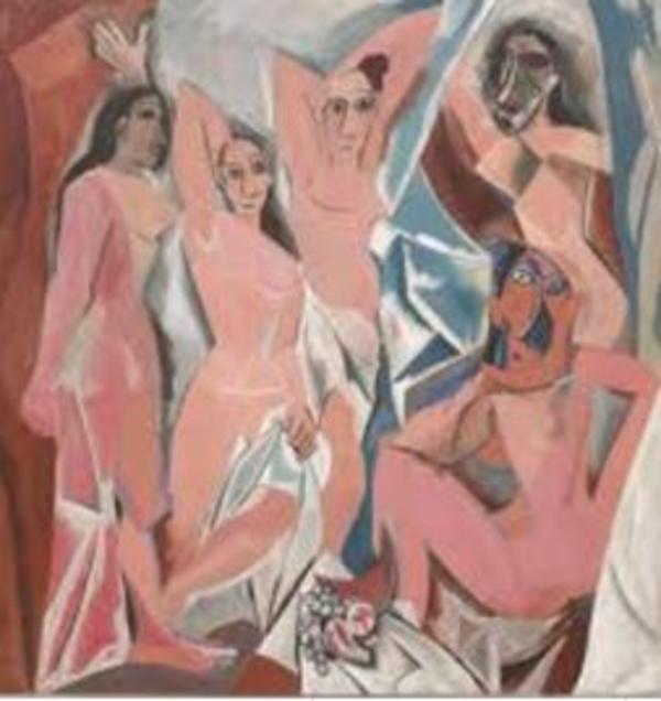 Picasso, Les Demoiselles d'Avignon (1907)
