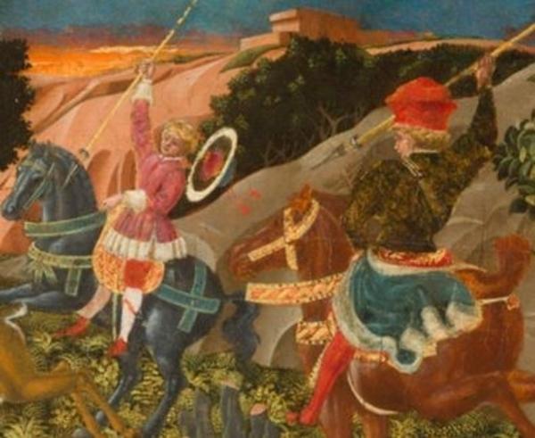 """Giovanni di Franco, """"La Chasse"""", 15ème siècle"""
