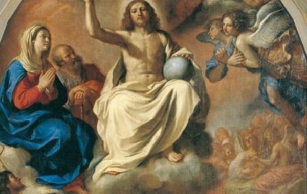 """""""La Gloire de tous les saints"""", Le Guerchin"""