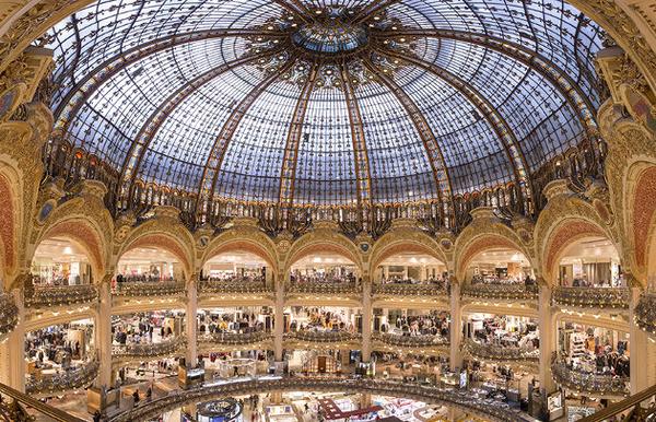 A la découverte de l'histoire des Galeries Lafayette