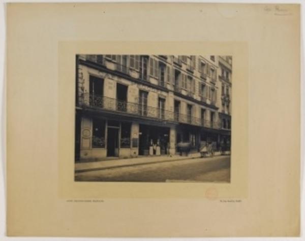 La Révolution Française à Paris, dans le quartier de l'Odéon