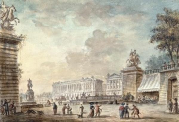 La Révolution Française à Paris, autour des Tuileries