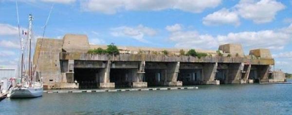 Submarine base of Lorient