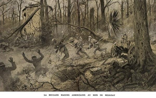 Sur les traces des combats du Bois de Belleau
