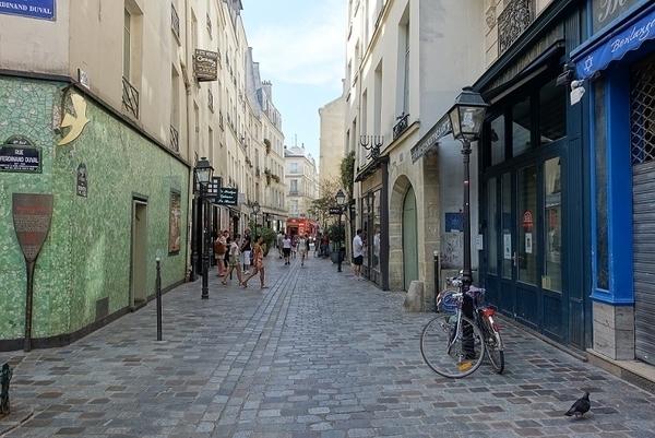 Quartier juif du Marais