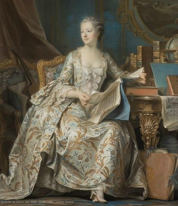 En société, pastels du Louvre des 17e et 18e siècles