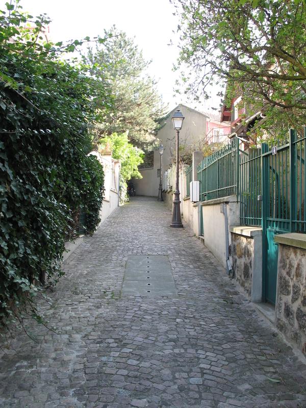 Le quartier de la Mouzaïa