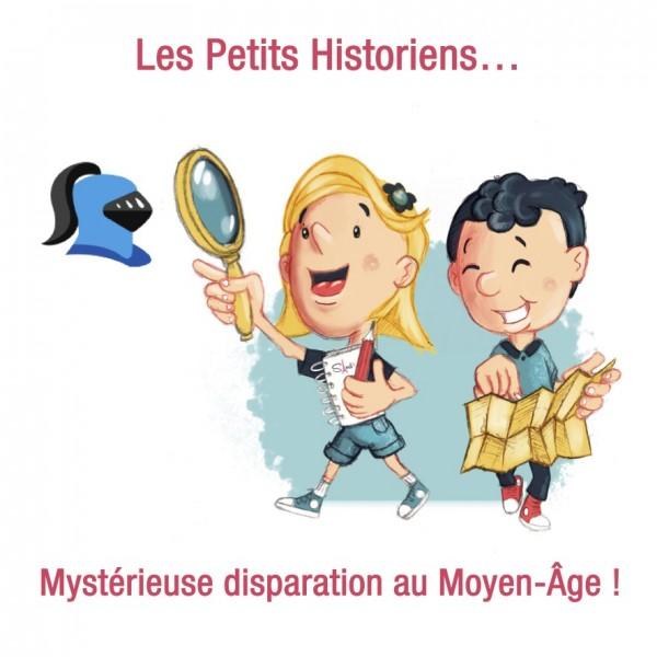 Enquête au Moyen-Âge par les petits historiens en visio ! (5-7 ans)