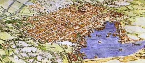 "Fréjus, Forum Iulii, colonie romaine ""la pompéi provençale"""