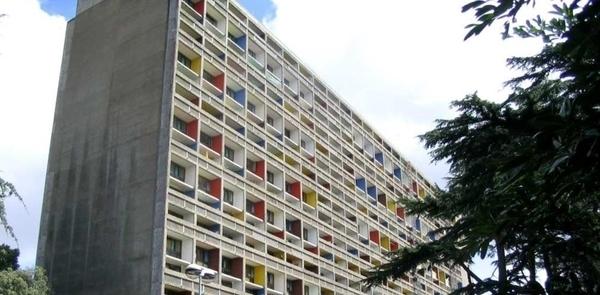 La Cité radieuse - Le Corbusier