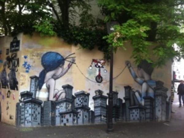 Street Art à la Butte aux Cailles