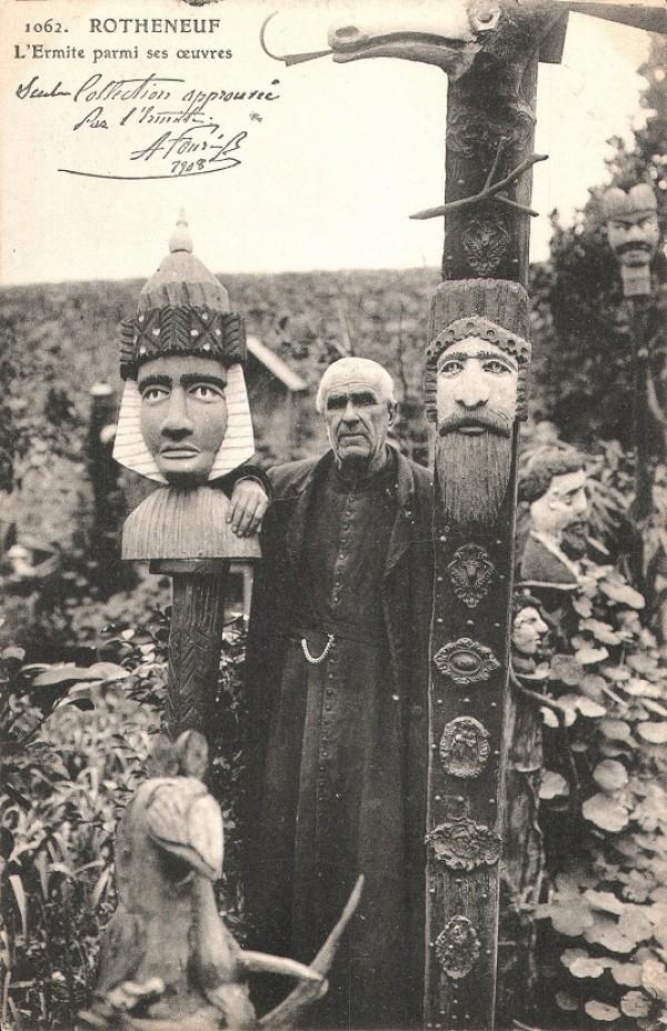 Rochers sculptés de l'Abbé Fouré