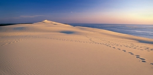 Crépuscule à la Dune du Pilat