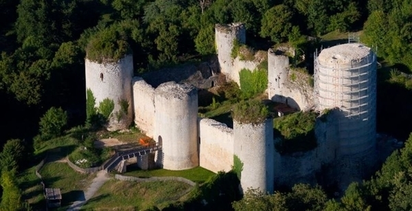 Château Fort Coudray-Salbart