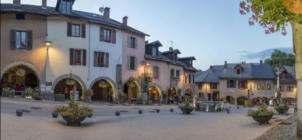 Le bourg médiéval d'Alby-sur-Chéran