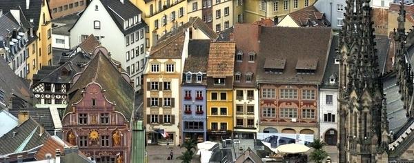 Flânerie dans le centre historique de Mulhouse