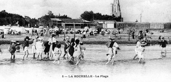 La Rochelle au temps des bains de mer...