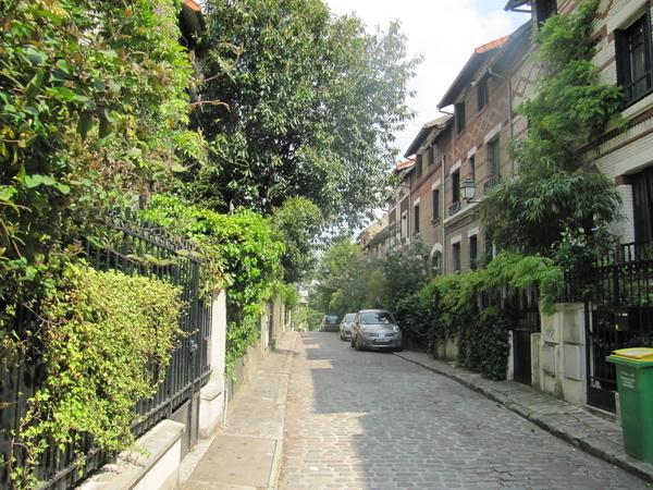 Cités d'artistes, jardins et villas du quartier Montsouris