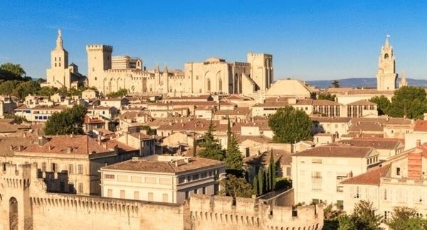 Avignon médiéval et Palais des Papes