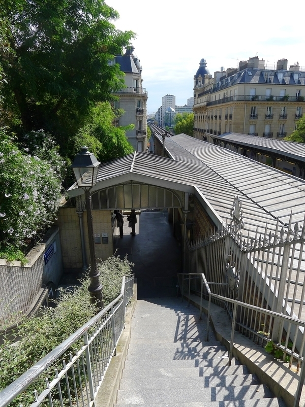 Du Trocadéro aux villas et hameaux de l'ancien village de Passy