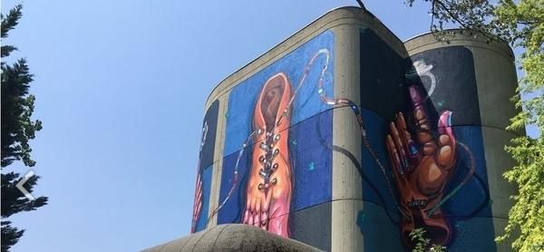 Découverte du Street Art en tramway, à Grenoble