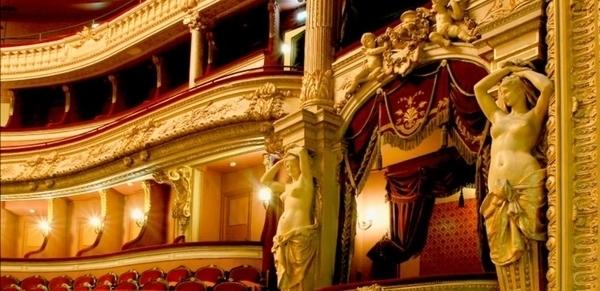 Le théâtre à l'italienne de Cherbourg
