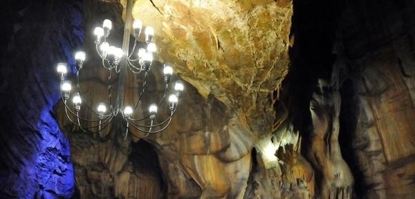 Les Grottes de Baume les Messieurs