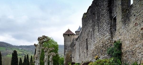 Camon, village fortifié