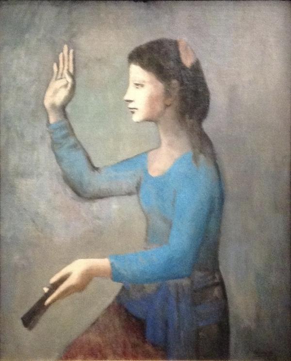 Picasso, rose et bleu