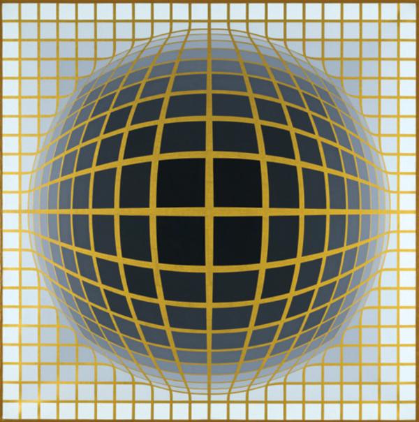 Vasarely - Le partage des formes